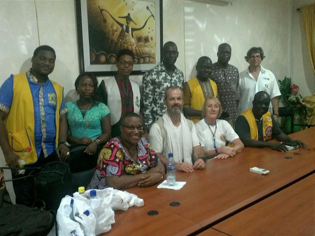 Rencontre avec nos amis de Cotonou